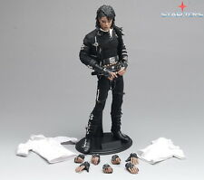 "1:6th STAR TOYS Michael Jackson Bad MJ Action Figure Collectible Model 12"" Toy"