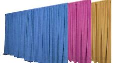 BLUE MAGENTA OR YELLOW backdrop for Stage, Theatre or Club 6m x 3m