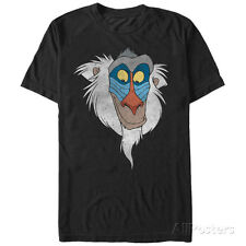 Disney: The Lion King- Rafiki Smile Apparel T-Shirt L - Black