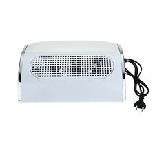 Nail Dust Collector Fingernail Cleaning Collector Nail Dust Collection Fan UK/EU