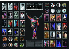 New Michael Jackson This Is It Limited Edition Oversized Memorabilia Framed