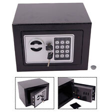 "9"" Digital Safe Box Keypad Lock Home Office Wall Antique Cash Money Gun Security"