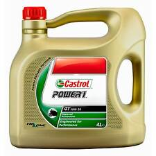 Castrol Power 1 4T Motorcycle 4 Stroke Semi-Synthetic Engine Oil 10W/30 4 Litre