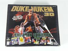 Duke Nukem 3D Kill-A-Ton Collection PC CD ROM in big box all 3 disc's sealed
