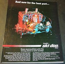 1986 SKI-DOO GENUINE SNOWMOBILE PARTS  SALES BROCHURE  6 PAGES