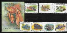 Malagasy 1192-99 Fish Mint NH