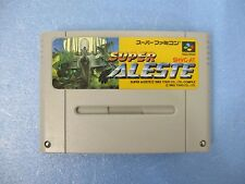 [SFC] SUPER ALESTE - Nintendo Super Famicom SNES Japan Import