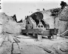 New 8x10 Civil War Photo: Confederate Battery on the James River, Dutch Gap