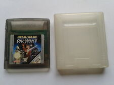 JUEGO GAME BOY COLOR GBC STAR WARS EPISODE I OBI-WANS ADVENTURES CARTUCHO+FUNDA