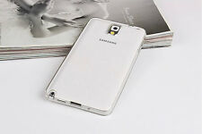 Crystal Clear TPU Soft Silicon Transparent case cover for Samsung Galaxy Note 3