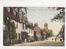 Old Houses Tottenham Lane Hornsey London Vintage Postcard 437b