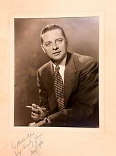 VINTAGE AUTOGRAPH PICTURE HOLLYWOOD ACTOR 1950S TELEVISION MOVIE CELEBRITY