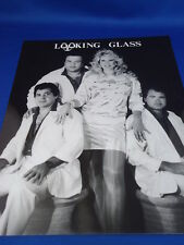 LOOKING GLASS Classic 1970's 8x10 Promo Photo  Music Still Print band LOUNGE ACT