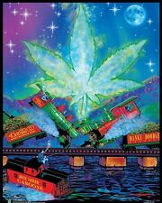 TRAINWRECK - WEED BLACKLIGHT POSTER - 16x20 - NON-FLOCKED 161971