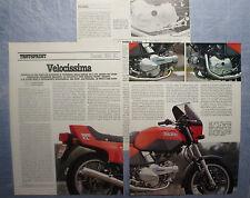 MOTOSPRINT982-PROVA / TEST-1982- DUCATI 350 XL - 3 fogli