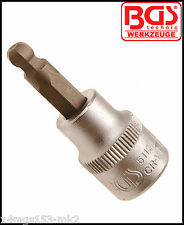 "BGS - 3/8"" - Internal Hex, Allen Key - 5 mm Ball Ended, Socket Bit - Pro  - 5112"