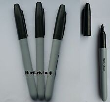 3 x BRANDED PERMANENT MARKER PENS BLACK COLOURS FINE POINT TIP Sharpie Mixed - P