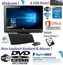 HP Pro All-In-One PC DESKTOP Windows 10 Intel Core i5 4GB RAM *500GB HD* WEBCAM