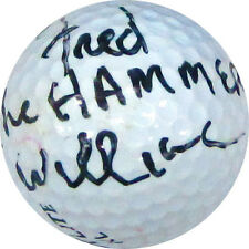 Fred Williamson The Hammer Autographed / Signed Golf Ball