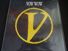 "Vov Wow ""V"" Original LP w/inserts. Japanese Import. Eastworld/EMI. WTP-9049.1."