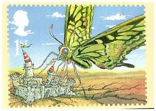 (34960) Postcard - The Butterfly that Stamped - Just So - Rudyard Kipling