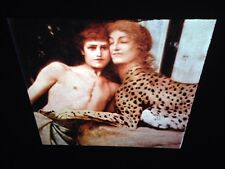 "Fernand Khnopff ""Sphinx Caress Detail"" Belgian Symbolism Art 35mm Glass Slide"