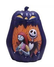 Nightmare Before Christmas Pumpkin Cookie Candy Halloween Jar Jack Sally Disney
