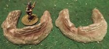 Vintage MARX Small Gun Emplacements, Set of Two (x2).Great Find!!!