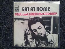 Paul & Linda McCartney (Beatles) - Eat at home 7'' Single SPAIN