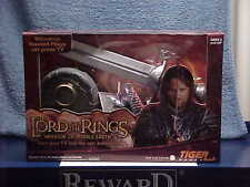LORD OF RINGS ARAGORN 3D SWORD WIRELESS TV VIDEO GAME WARRIOR MIDDLE EARTH MIB