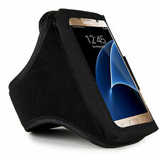 Black Sumaclife Gym Sport Armband Case for Samsung Galaxy S7 / S6 Active