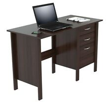 Inval America Espresso-Wengue Writing Desk with Three Drawers ES-7103 Desk NEW