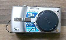 Panasonic LUMIX DMC-TZ1 Digitalkamera, silber, Leica Objektiv