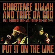 Ghostface Killah, Put It on the Line CD/DVD New Factory Sealed