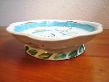 BEAUTIFUL ANTIQUE 19TH CENTURY CHINESE EXPORT FAMILLE ROSE FOOTED BOWL