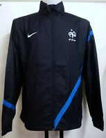 FRANCE 2012/13 NAVY WOVEN TRACK JACKET BY NIKE ADULTS SIZE XL BRAND NEW