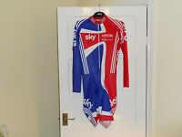 SKY Adidas NEW Team GB cycling skinsuit --- padded bike shorts