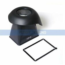 LCD viewfinder loupes Magnifier Eyecup Extender V2 Hood for Canon 550D 5D III