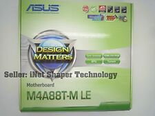 *BRAND NEW* ASUS M4A88T-M LE Socket AM3 Micro ATX MotherBoard AMD 880G