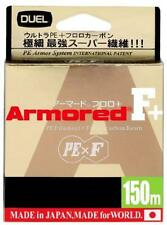 Duel ARMORED F + 150M #0.1 Fishing line Light Blue from Japan