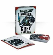 Warhammer 40k Grey Knights Datacards Data Cards New Sealed Games Workshop WH40K