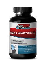 Brain & Memory Booster 777mg - Dietary Supplement - Supports Activity Pills 1B