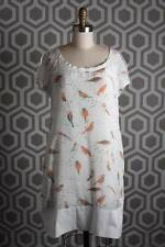 NWT See by Chloe Silk Bird Print Shift Dress   US 6   I 42   F 38