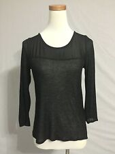 NEW Urban Outfitters Sparkle And Fade Black Tunic Blouse Top Size M 8-10