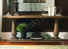 Rustic Wood Pine SPRING CREEK Console Table HORCHOW French Country Sofa Hall