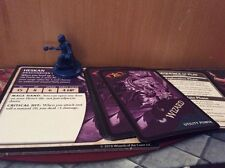 Wrath Of Ashardalon Heskan Dragonborn Wizard Mini With MOST Cards Dnd
