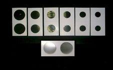 500 2X2 CARDBOARD MYLAR COIN HOLDER FLIPS (ASSORTMENT)