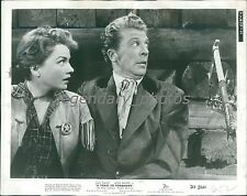 1950 A Ticket to Tomahawk Original Press Photo Dan Dailey Anne Baxter