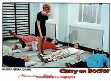 Alexandra Dane Carry On Doctor Up The Khyber Loving Behind  Autograph UACC RD96