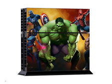 Hulk Heroes Sticker Skin Decal For Sony PS4 Console 2 Controller Dustproof